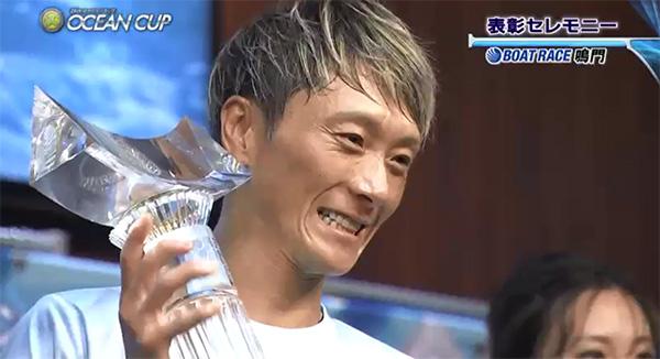 2020年 SGオーシャンカップ表彰式 優勝は峰竜太選手!初SG制覇はオーシャンカップ 佐賀支部・ボートレース鳴門・競艇