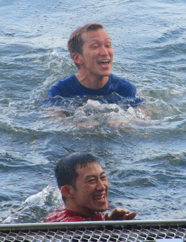 瓜生正義選手が2,000勝を達成!水神祭では西山貴浩選手も飛び込む。2,000勝利のレースはびわこG1のドリーム戦!福岡支部・ボートレースびわこ・競艇