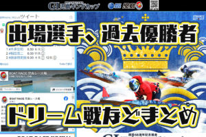 2020年9月G1児島キングカップ 開設68周年記念競走 概要・出場レーサーまとめ 周年記念・ボートレース児島・競艇