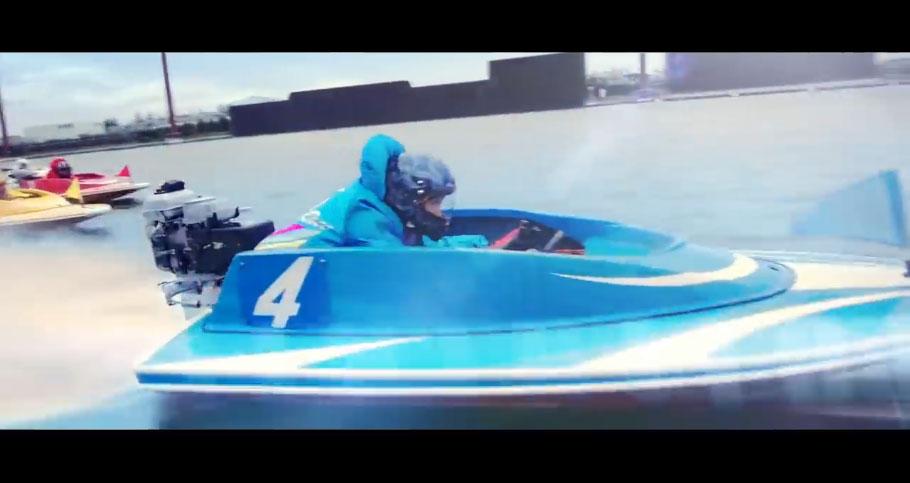 2020ボートレースCMシリーズ『ハートに炎を。BOAT is HEART』スピンオフ『case4:ハヤマの場合』公開。ハヤマがタナカに勝利 小林涼子・葉山奨之・競艇