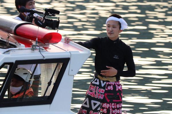 西山貴浩(にしやま たかひろ)選手が念願のG1初制覇!徳山ダイヤモンドカップで。ウィニングラン 福岡支部・ボートレース徳山・競艇