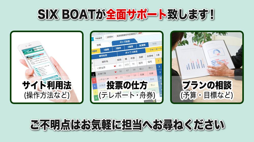 競艇SIX BOAT(シックスボート) 優良競艇予想サイト・悪徳競艇予想サイトの口コミ検証や無料情報の予想結果も公開中 競艇初心者向け
