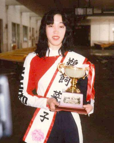 「インの鬼姫」鵜飼菜穂子(うかいなほこ)選手について!若かりし頃の鵜飼。女子の中心選手としてボート界を引っ張っていた。競艇選手・愛知支部・ボートレーサー