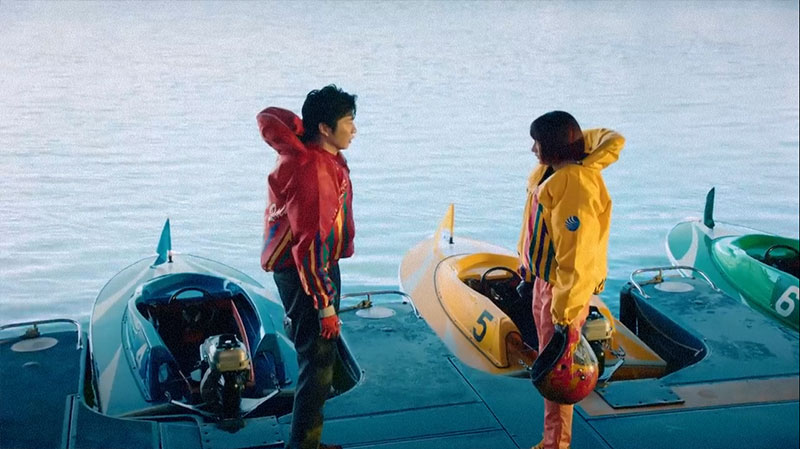 2020ボートレースCM『ハートに炎を。BOAT is HEART』最終話。レナ「おめでとうございます」 田中圭・武田玲奈・葉山奨之・飯尾和樹・競艇