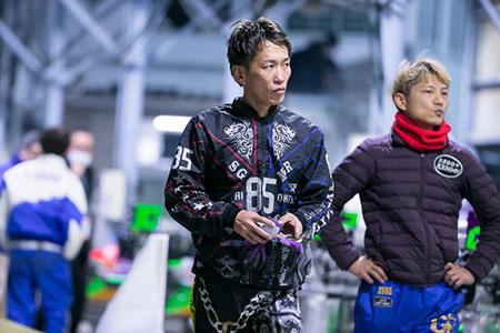 【銀河系軍団】井口選手デザインのジャンパーを着る興津藍選手。85期・競艇選手・徳島支部・ボートレーサー