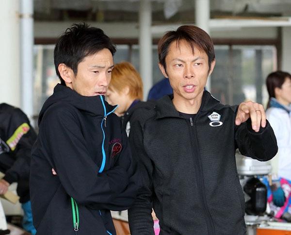 長田頼宗(おさだ よりむね)選手と馬場貴也(ばばよしや)選手 93期・競艇選手・東京支部・ボートレーサー