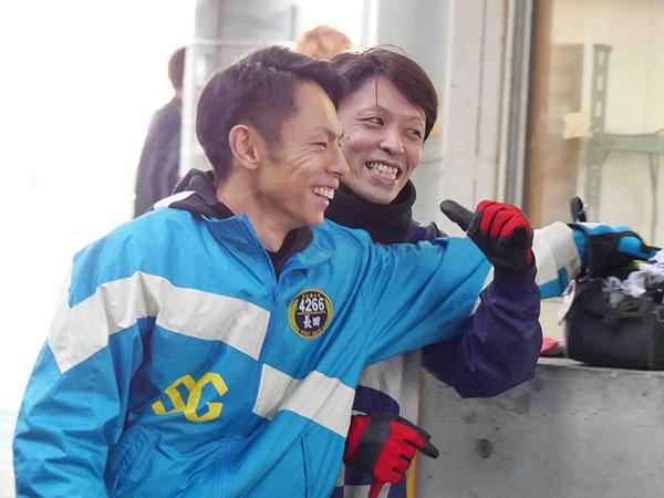 長田頼宗(おさだ よりむね)選手と長尾章平選手 93期・競艇選手・東京支部・ボートレーサー