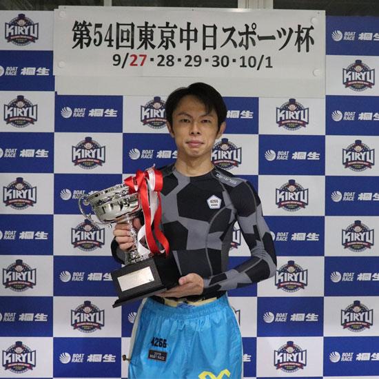 長田頼宗(おさだ よりむね)選手が桐生で優勝 93期・競艇選手・東京支部・ボートレーサー