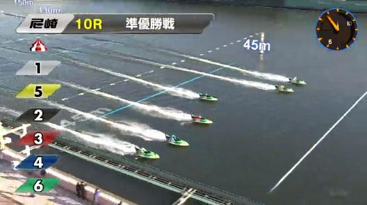 優良競艇予想サイト 競艇チャンピオン(競艇CHAMPION)松崎選手の起こし遅れ