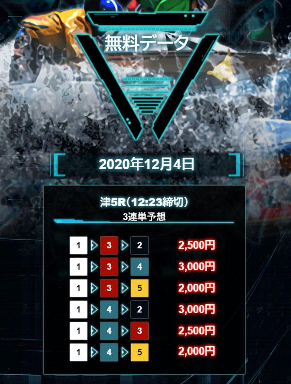 マジックボート(MAGIC BOAT) 優良競艇予想サイト・悪徳競艇予想サイトの口コミ検証や無料情報の予想結果も公開中 2020年12月4日 無料情報買い目