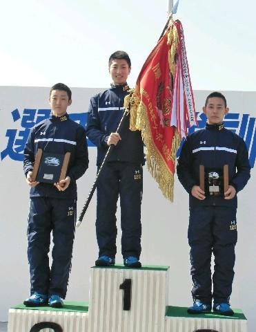 養成所チャンプは原田才一郎(はらださいいちろう)選手。福岡支部・競艇選手