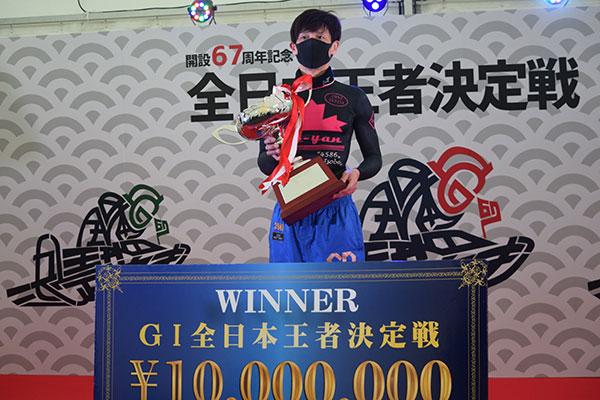 全日本王者決定戦は池田浩二(いけだこうじ)選手が優勝!愛知支部・ボートレースからつ・競艇