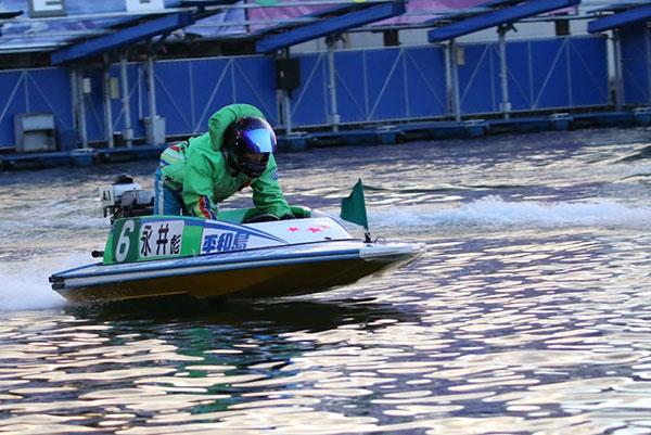 ボートレーサー永井彪也(ながいひょうや)選手。東京支部・競艇選手