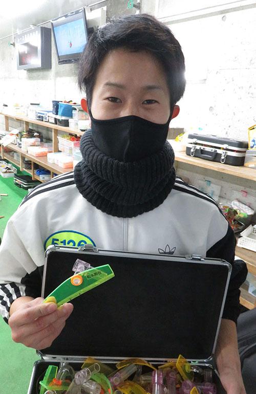 故・松本勝也選手のペラゲージは兵庫の若手、山下大輝選手に受け継がれていた!ボートレーサ・兵庫支部・競艇
