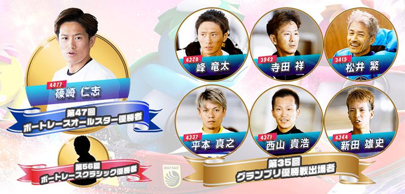 【競艇SG】第48回ボートレースオールスター ファン投票 優先出場選手 ボートレース若松・競艇