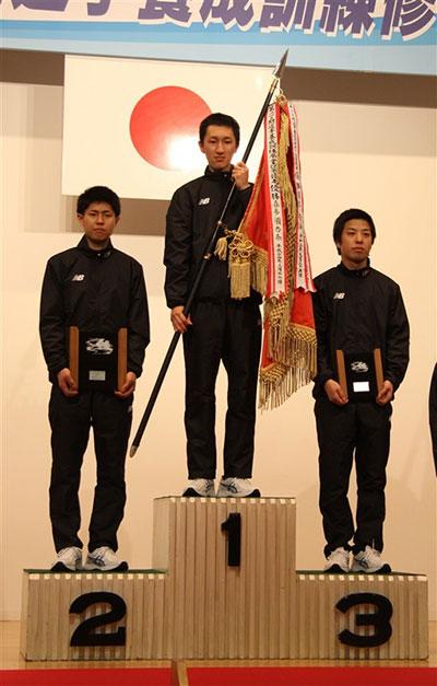 128期の養成所チャンプは飛田江己(とびた こうき)訓練生。ボートレーサー養成所・やまと学校・埼玉支部・ボートレーサー