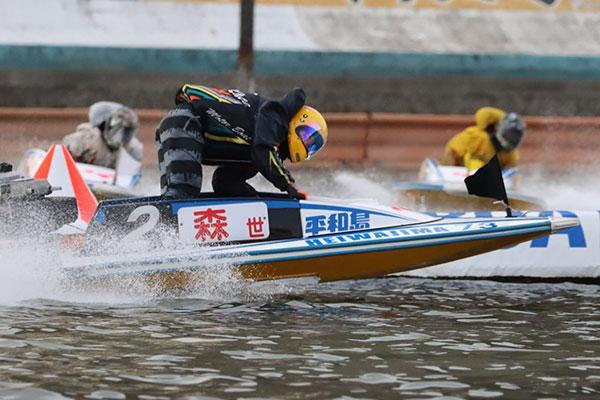 森世里(もり せり)選手がデビュー初優勝!平和島ヴィーナスで。滋賀支部・競艇