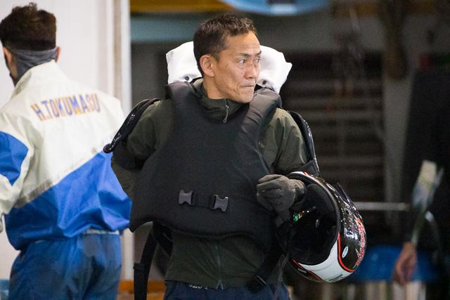 マスターズリーグで優勝しマスターズチャンピオンに出場した野中義生選手。長崎支部・ボートレース下関・競艇