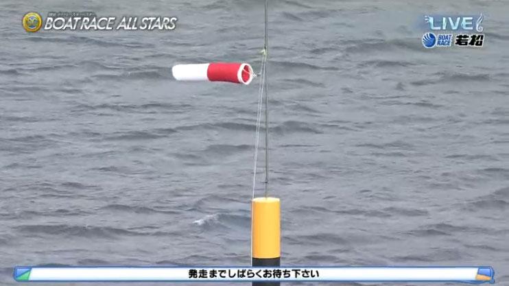 2021年SGオールスター初日が強風で順延!北九州市には強風・波浪注意報。ボートレース若松・競艇