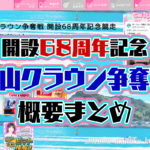 2020年5月G1徳山クラウン争奪戦開設68周年記念 概要出場レーサーまとめ ボートレース徳山|