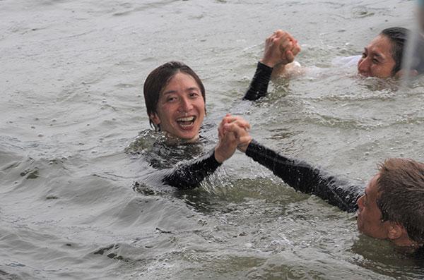 2021年G1福岡チャンピオンカップ優勝の前田将太(まえだ しょうた)選手の水神祭。福岡支部・ボートレース福岡・競艇
