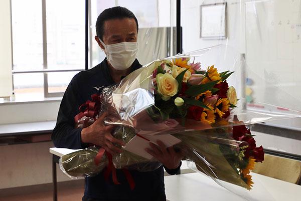 鈴木唯由選手の引退セレモニー・群馬支部・競艇選手
