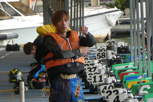 ボートレーサー大澤風葵(おおさわ ふうき)選手。群馬支部・競艇選手