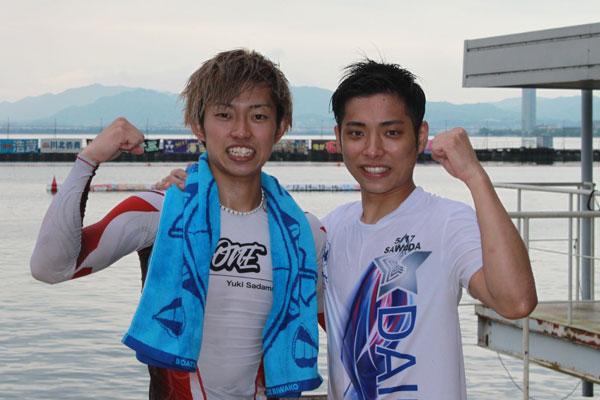澤田尚也選手と定松勇樹選手がG2初勝利!滋賀支部・佐賀支部・ボートレーサー・競艇