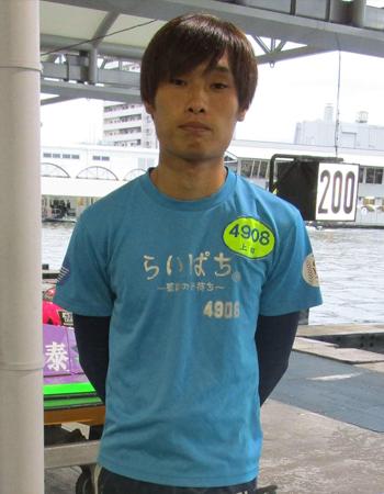 競艇選手 大阪支部の上田龍星選手は大阪府出身のボートレーサー